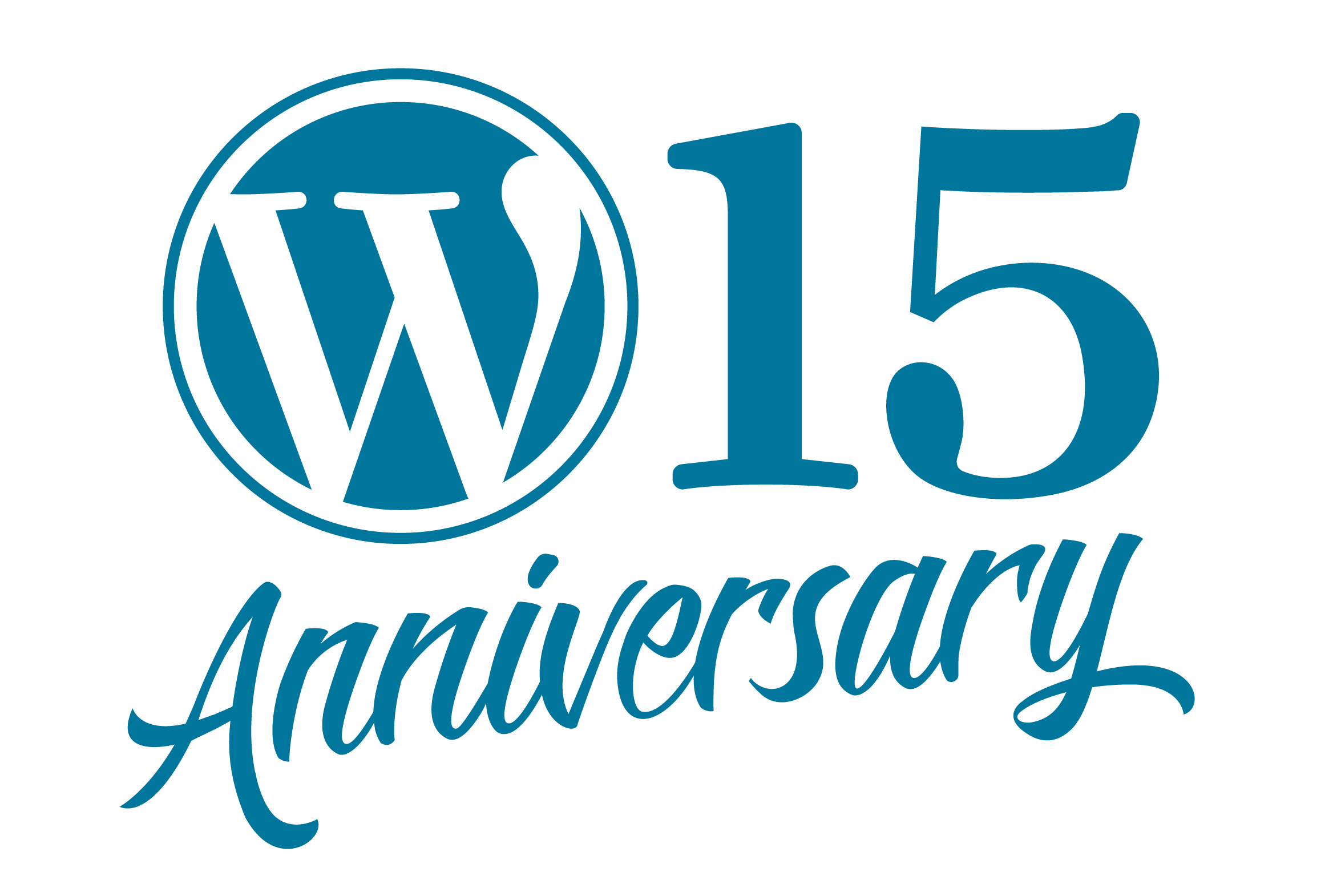 WordPress 15 Anniversary